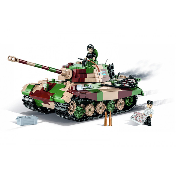 Конструктор COBI 1000  PCS HISTORICAL COLLECTION  /2540/  PZKPFW  VI  AUSF.BKONIGST