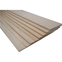 Бальза листовая 3,0x100x1000мм BALSA-3.0 Артикул - BALSA-3.0