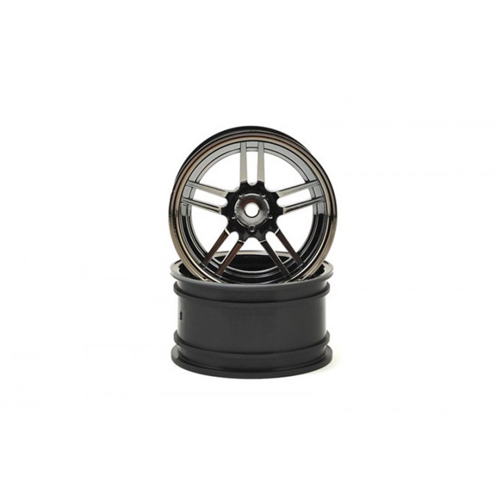 WHEELS, SPLIT SPOKE 1.9 (BLACK